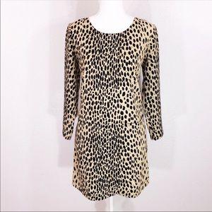 JCrew jules dress in wildcat
